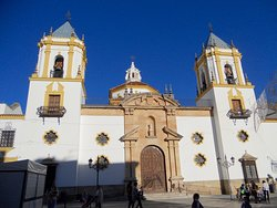 The Church of Our Lady of Mercy, Ronda.