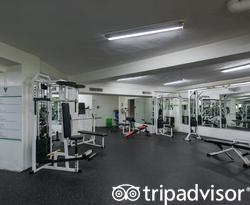 Fitness Center at the Viva Wyndham V Heavens - All-Inclusive Resort
