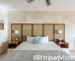 The Junior Suite Oceanfront with Jacuzzi at the Impressive Resort & Spa Punta Cana