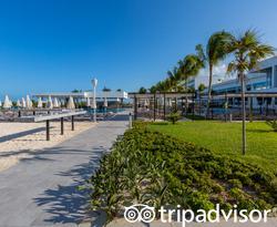 Beach at the Hotel Riu Palace Costa Mujeres