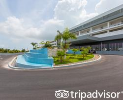 Entrance at the Hotel Riu Palace Costa Mujeres