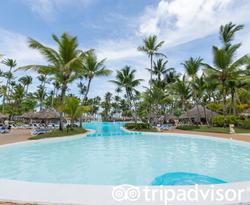 The Main Pool at the Melia Caribe Beach Resort
