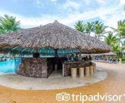 Pool Bar at the Melia Caribe Beach Resort