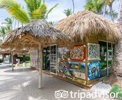 Shops at the Melia Punta Cana Beach Resort