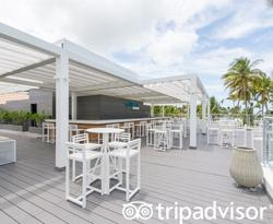 Level Rooftop Bar at the Melia Punta Cana Beach Resort