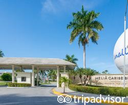Grounds at the Melia Punta Cana Beach Resort
