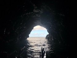 The sea caves we enter are often regarded as the highlight of a Na Pali tour.