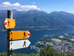 Wanderung von Cimetta nach Locarno