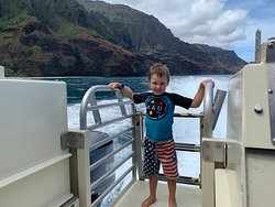 Children love our tour! We take passengers 5 years and older.