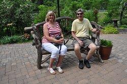 Linda & Paul take a break.