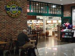 Entrance, Sweet Auburn Market, International terminal