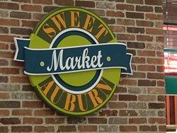 Logo, Sweet Auburn Market, International terminal