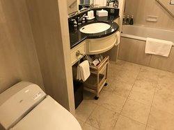 バスルームも広い!