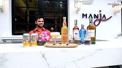 Malaysian Made Cocktail at Manja