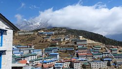 Clouds over namche