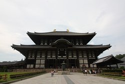 Daibutsuden. Main hall. Front view.