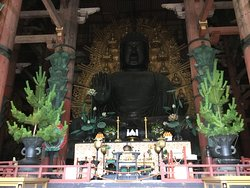 Great Buddah. Front view.