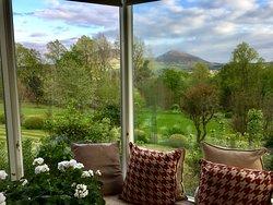 Beautiful views to Eildon hills
