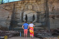 Ancient Heritage sites visit in Polonnaruwa.