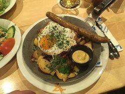Bayrische Restaurantkette im The Squaire, nicht besonders
