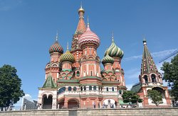 St Basil on Red Square