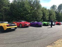 Just some of the cars available to drive