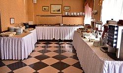 Complimentary breakfast in Asteria hotel Комплиментарный завтрак в отеле Астерия