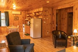 Chalet #1- 2 Bedroom Standard Photo's 2019 NEW HEAT PUMPS IN EVERY UNIT!