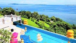 View from Villa Balconey