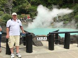 Hot pool at Umi Jigoku