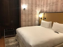 Our room situated at 3rd floor which offers a glimpse of the Galata Bridge