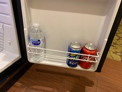 Complimentary snacks and drinks and waters for Premier room along with code for Premium WIFI