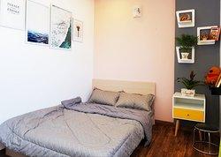 Phòng ngủ view city