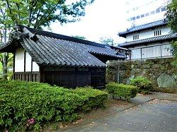 The Remain of Takasaki Castle