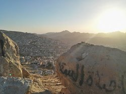 View over the city, recommended by Mohammed