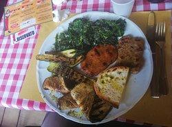 Secondo piatto nel menu da 15 euro.