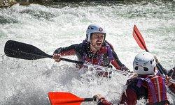 sirfing con un rafting