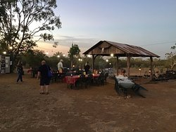 Delightful country venue For Marksie's camp oven experience.