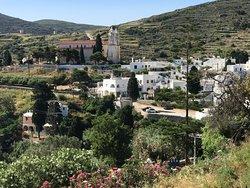 Beautiful authentic greek village