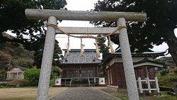 布良崎神社鳥居