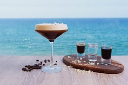 White chocolate espresso martini! AMAZING
