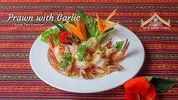 Prawn With Garlic
