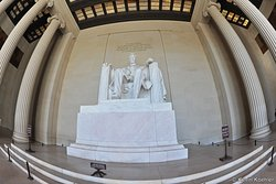 Lincoln Memorial in Washington D.C. USA