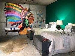 Suite para parejas en Casa Conicarit