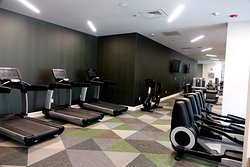 Excellent fitness center - one of the best I have seen in a full service Marriott