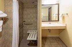 GrandStay Peoria ADA Shower