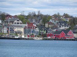 Lunenburg Photo Op from across the Harbour