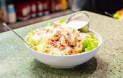 Half size chicken Caesar salad