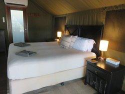 The safari camp at Barra Lodge