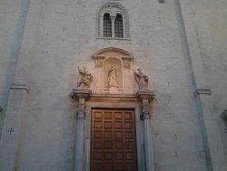 The main facade - detail.